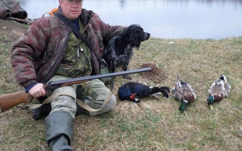 Приятные моменты на весенней охоте!